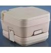 Heng's Portable Porta Potti Potty TraveLoo 2.5 Gallon Tan Toilet