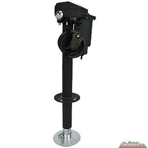 Ultra Fab Electric Tongue Jack with 7 Way Plug 3500 lbs 3502-7