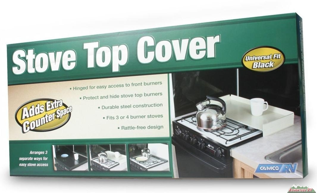 Camco Universal Rv Stove Top Cover Stainless Steel