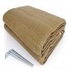 Reversible Awning Mat 6'x9' Brown
