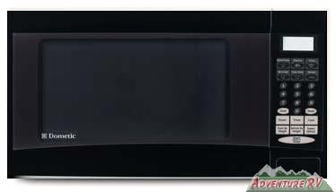 Dometic Dorm RV Marine Microwave Oven 900W 1.1 cu. ft. Black