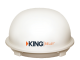 King Dome Relay Automatic KD5500 RV Satellite TV White