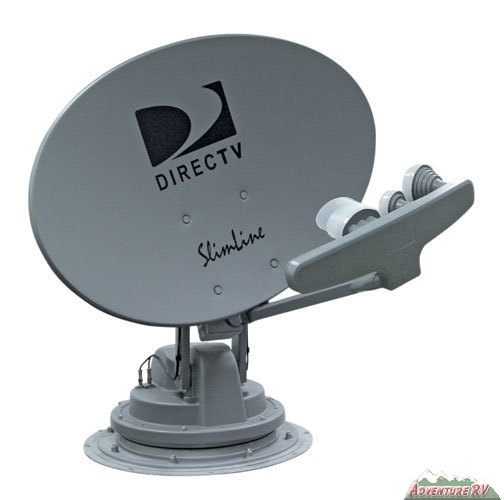 ... Trav'ler Traveler DirecTV Slimline KU/KA Satellite Dish RV SK-SWM3