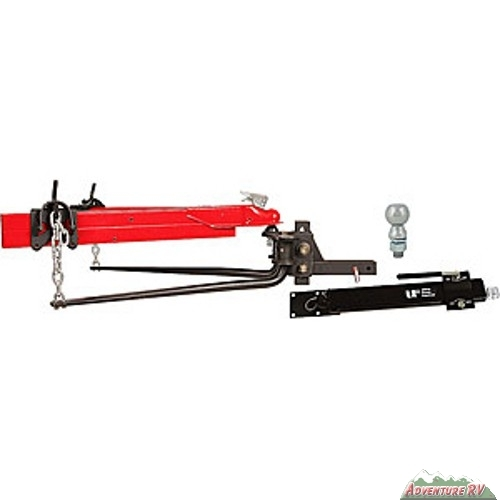 Ultra Fab Weight Distribution Hitch 1000lbs w/ Sway Control & Ball
