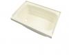 """Full Bath Tub, Bathtub 40"""" x 24"""", (LH), Parchment"""